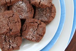 chocolate sables